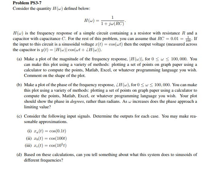 Solved Problem Ps3 7 Consider The Quantity H Defined Be