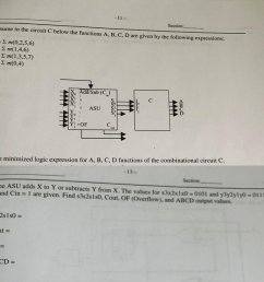 assume in the circuit c below the functions a  [ 1024 x 876 Pixel ]