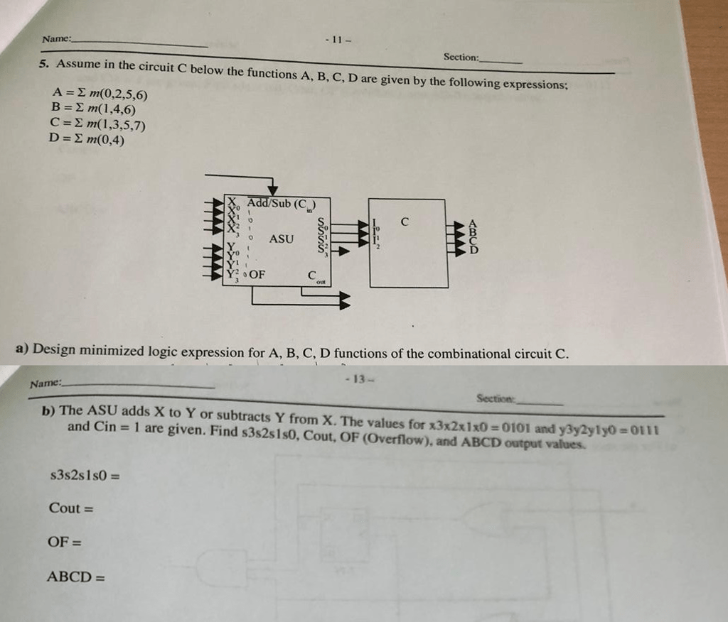 hight resolution of assume in the circuit c below the functions a