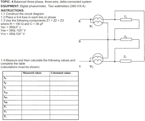 small resolution of solved topic 4 balanced three phase three wire delta c 380 volts 2 phase 5 wires wiring diagram