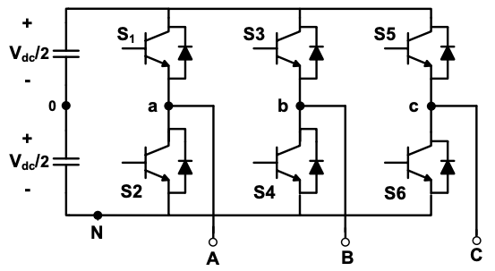 Solved: The Three-phase Converter Circuit Below Has Vd = 3