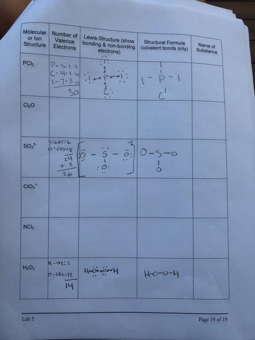 H2o2 Lewis Dot : lewis, Solved:, Molecular, Number, Lewis-Structure, (show, Structur..., Chegg.com