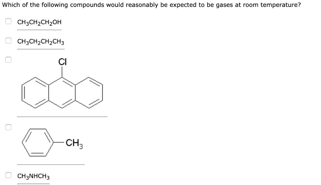 Solved: Which Of The Following Compounds Would Reasonably