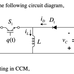 Circuit Diagram Of Buck Boost Converter Stop Start Contactor Wiring In A With The Following Circu Chegg Com Ip D