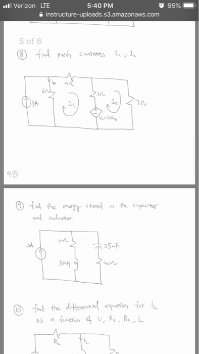 Solved: 2. Find The Input-output Voltage Relation (Vo As A
