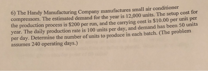 Handy Manufacturing Company