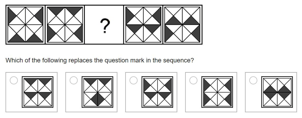 Solved: Which Of The Following Replaces The Question Mark
