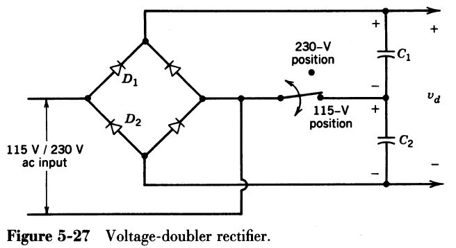 Solved: Combining A Voltage Doubler And A Switch To A Full