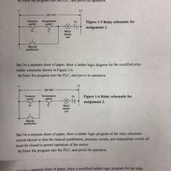 How To Draw Plc Wiring Diagram Lutron Solved 1a On A Separate Sheet Of Paper An I O Wiri
