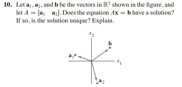Solved: 10. Let Al, A, And B Be The Vectors In R2 Shown In