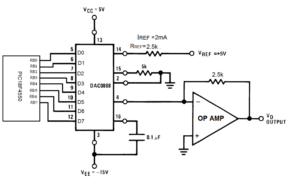 A Circuit With PIC18F4550 Microcontroller Is Inter