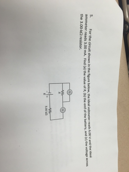The Voltages In The Circuit Are Shown In The Picture Below As Can Be