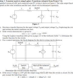 problem 3 transient analysis using laplace transform adapted from project 7 2 a simplified [ 940 x 902 Pixel ]