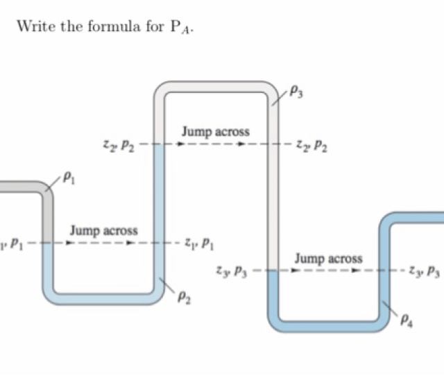 Question 1 Write The Formula For Pa Ps Jump Across Jump Across Jump Across P2