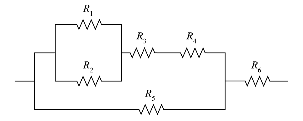 Solved: Find The Equivalent Resistance Of The Combination