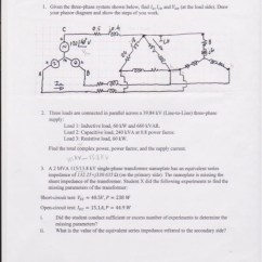 How To Draw Phasor Diagram Of Transformer Mini Usb Car Charger Wiring Electrical Engineering Archive   March 15, 2017 Chegg.com