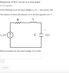 response of rlc circuit to a sine wave 0 1 point graded in [ 1024 x 980 Pixel ]