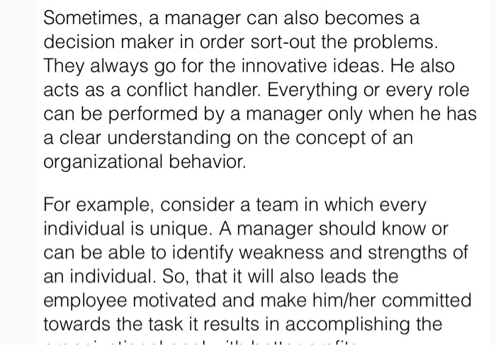 Solved: In The Present Scenario, Organizational Behavior P