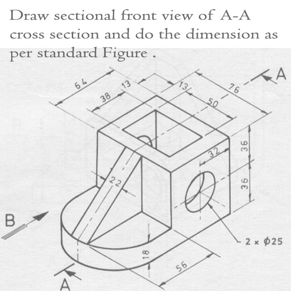Below In Figure QI Is An Isometric Drawing Of A
