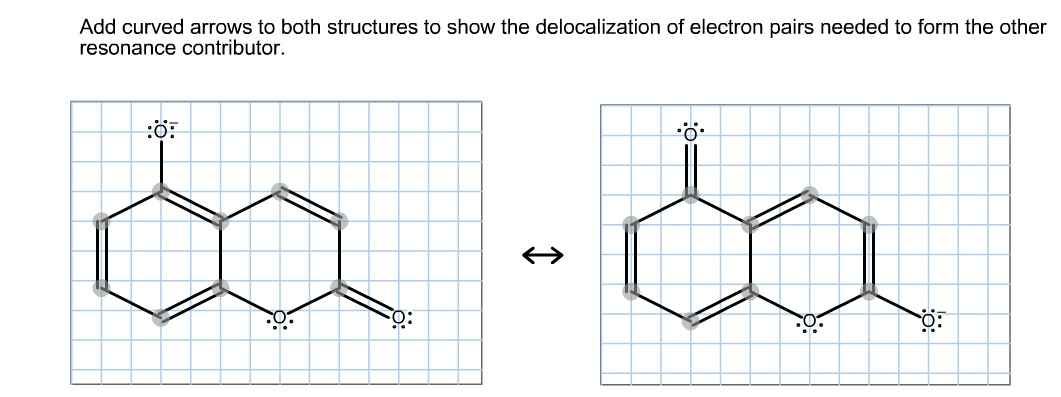 Add Curved Arrows To Both Structures To Show The