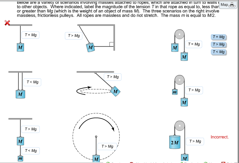 Below Are A Variety Of Scenarios Involving Masses