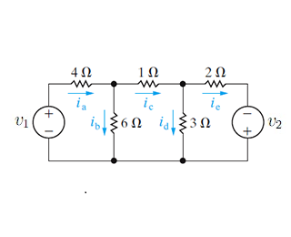 Solved: Use The Node-voltage Method To Find The Branch Cur