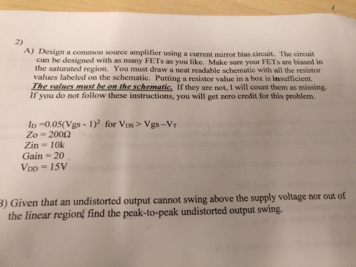 Current Source Circuit Design