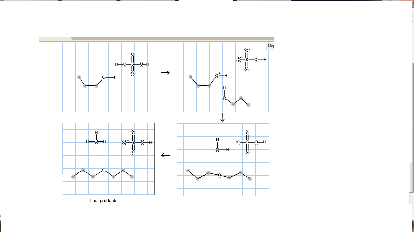 Complete The Electron-pushing Mechanism For The