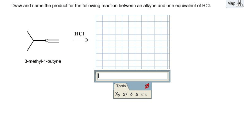 Draw And Name The Product For The Following Reaction