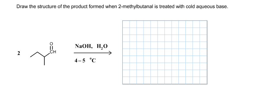 Draw The Structure Of The Product Formed When 2