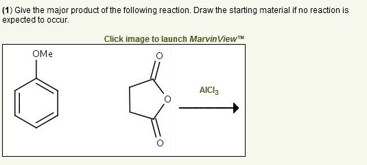 Give The Major Product Of The Following Reaction