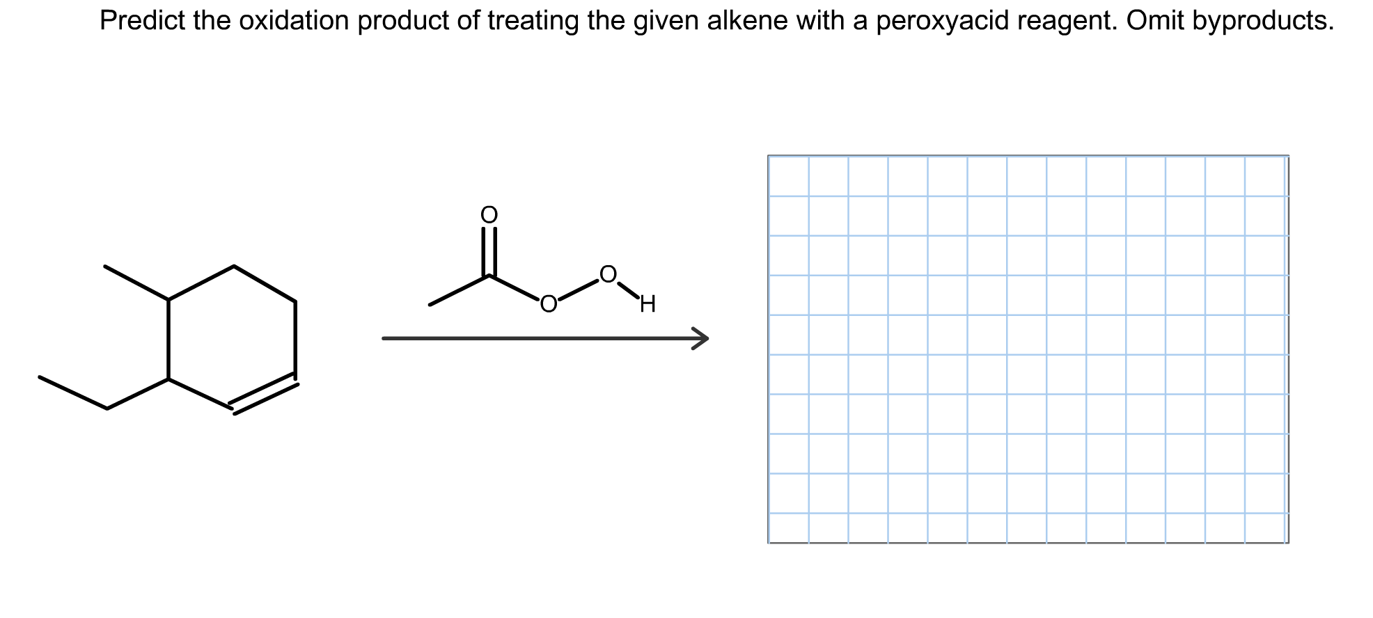 Predict The Oxidation Product Of Treating The Given