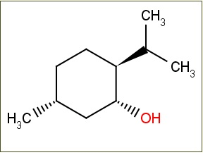 1.The Structure Of Menthol, Or (1R,2S,5R)-2-isopropyl-5