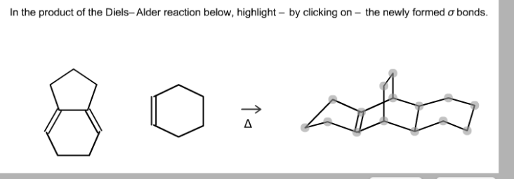 In The Product Of The Diels-Alder Reaction Below