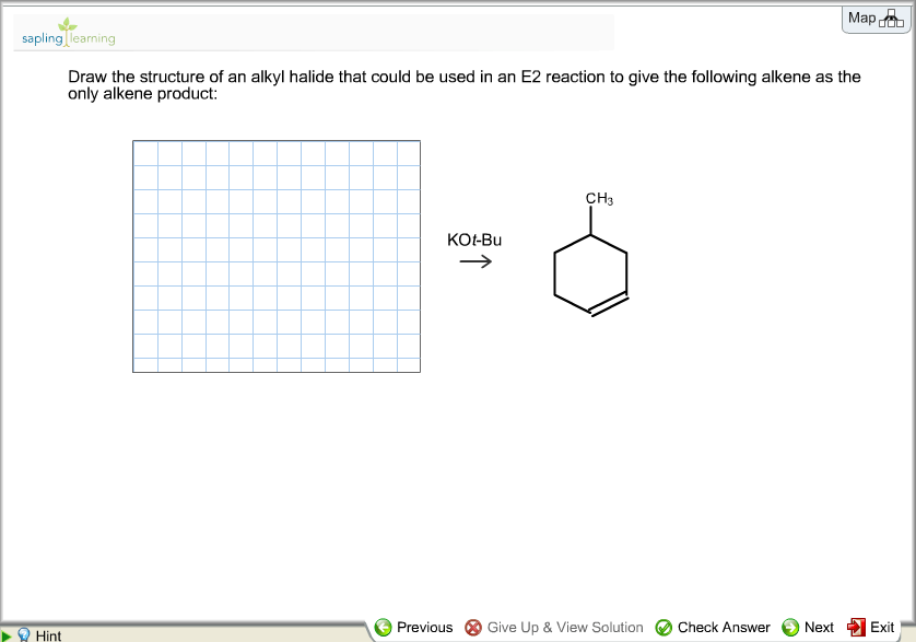 Draw The Structure Of An Alkyl Halide That Could