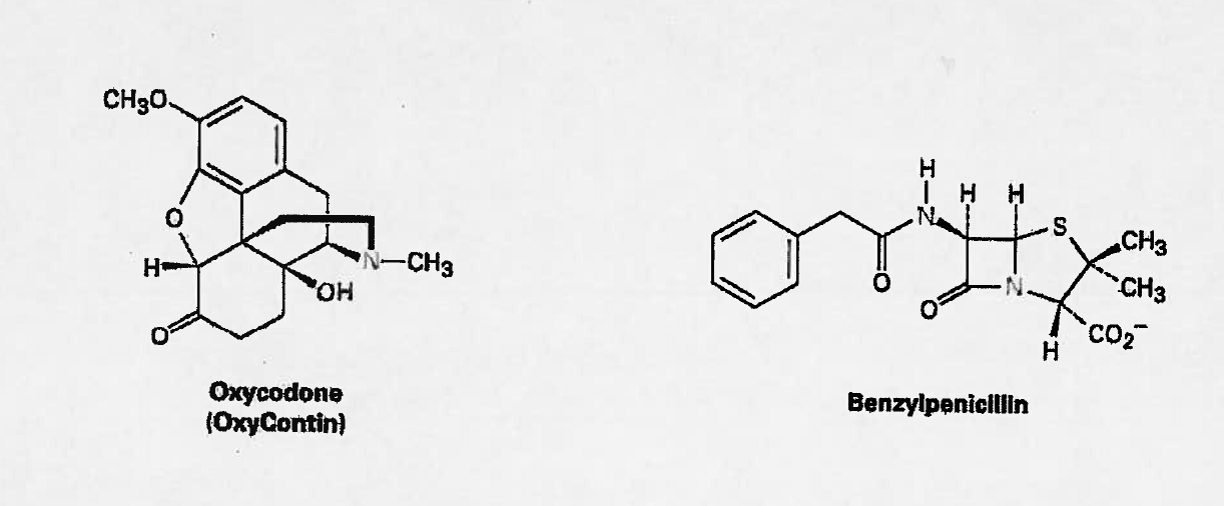 Identify All Functional Groups Within Oxycodone