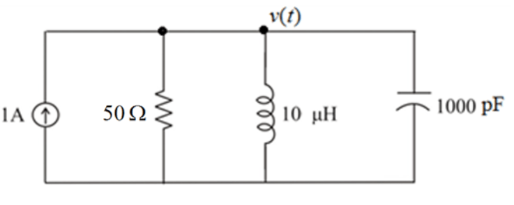 Solved: You Should Model A Second-order Circuit (RLC) In M