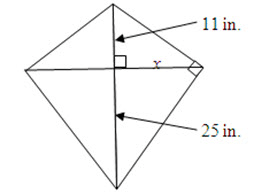 Maggie Has A Kite With The Dimensions Shown Below