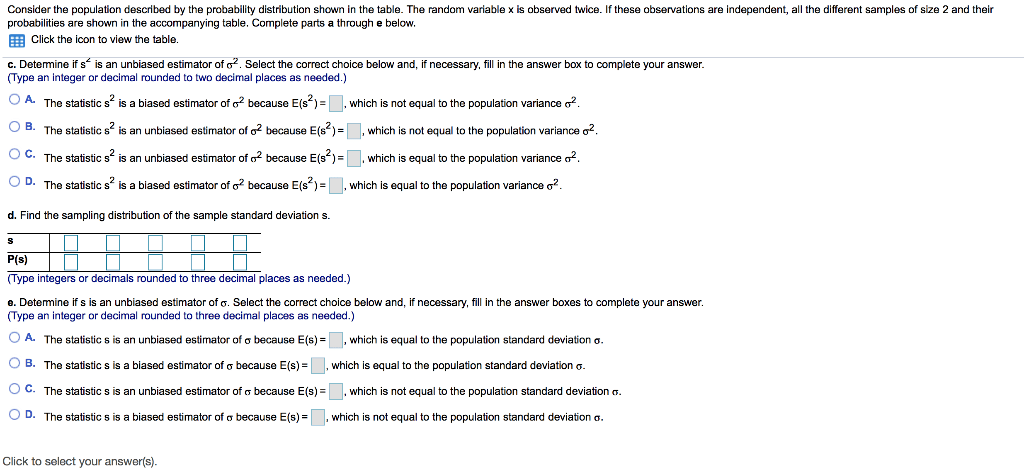 Solved: Please Refer To The Attached Table. Please Answer ... | Chegg.com