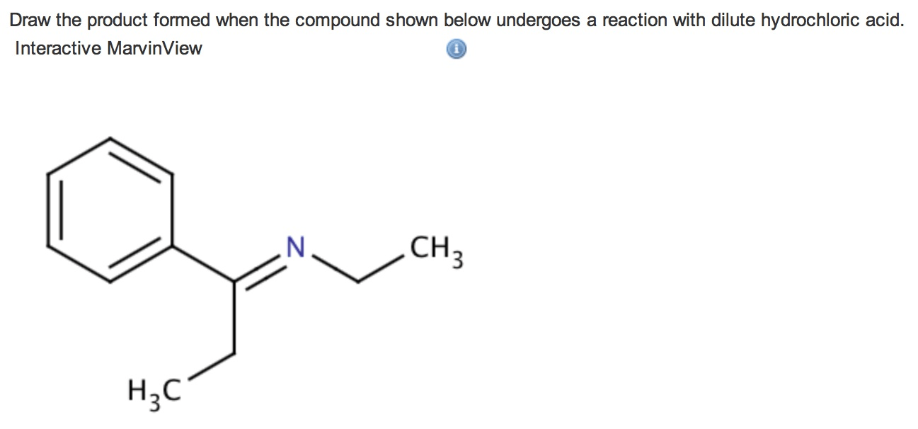 Draw The Product Formed When The Compound Shown