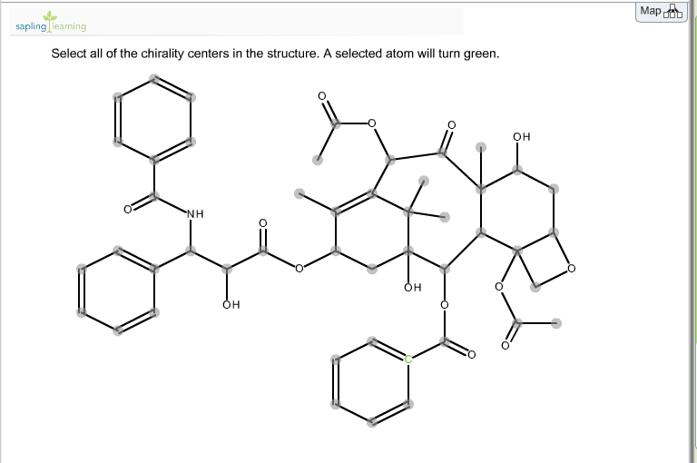Select All Of The Chirality Centers In The Structure