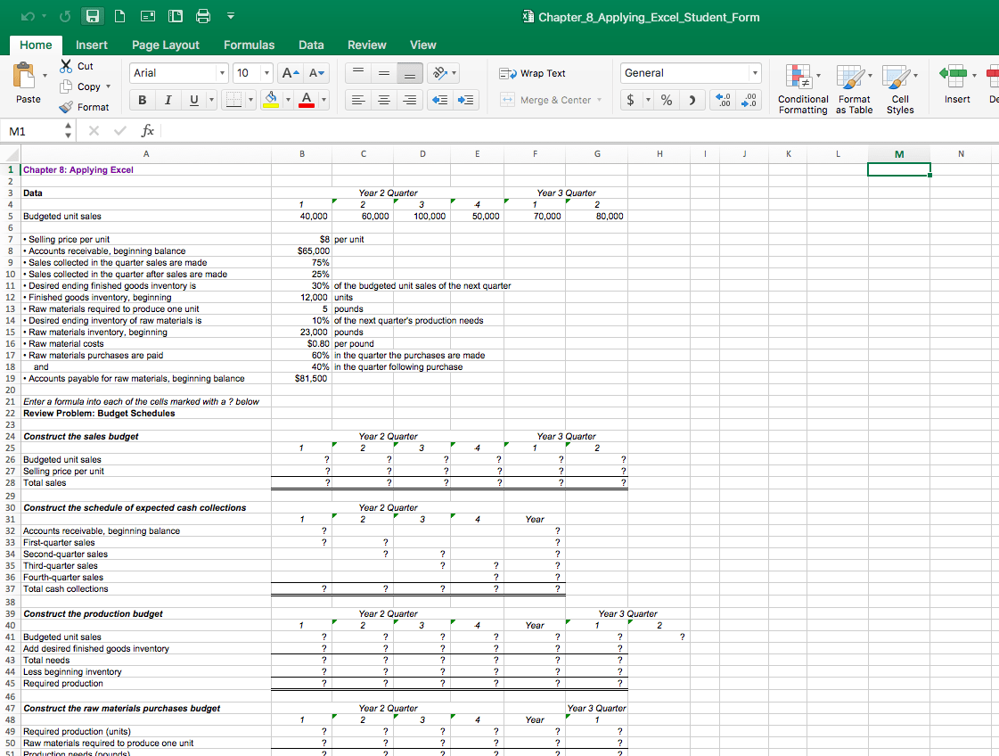 Solved 16 Download The Applying Excel Form And Enter Form