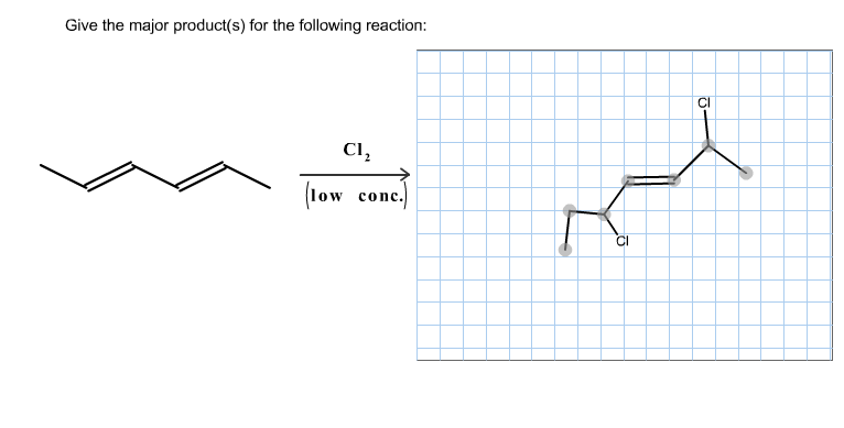 Give The Major Product(s) For The Following Reaction