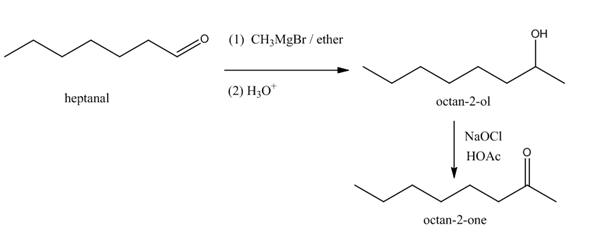 Solved: Show how you would synthesize octan-2-one from