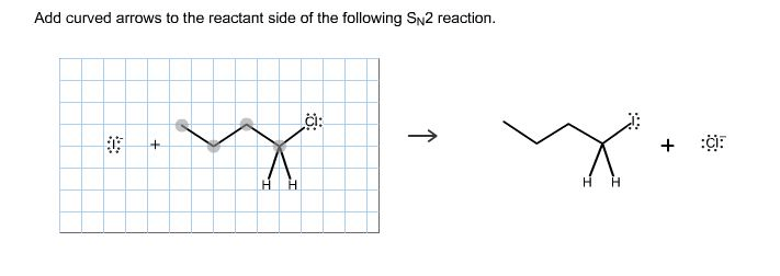 Add Curved Arrows To The Reactant Side Of The Following