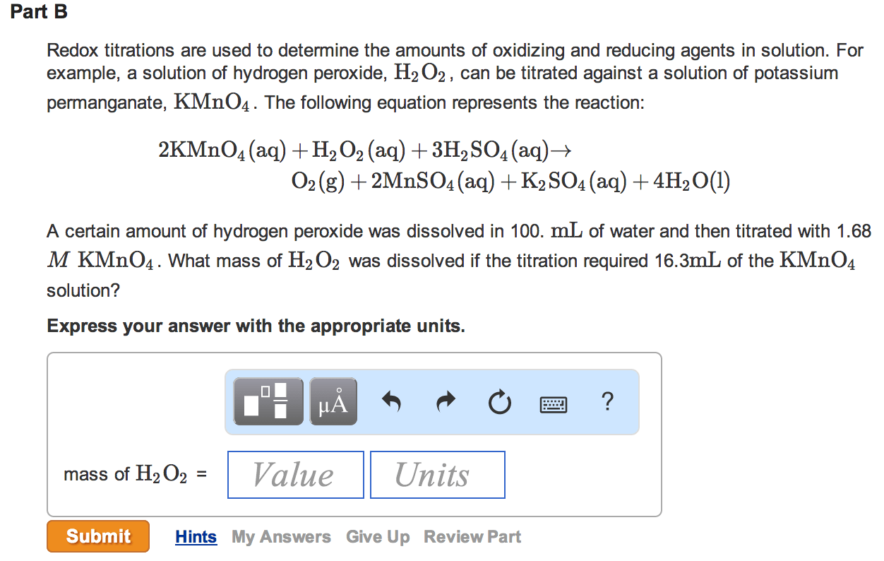 Mastering Chemistry Homework Help