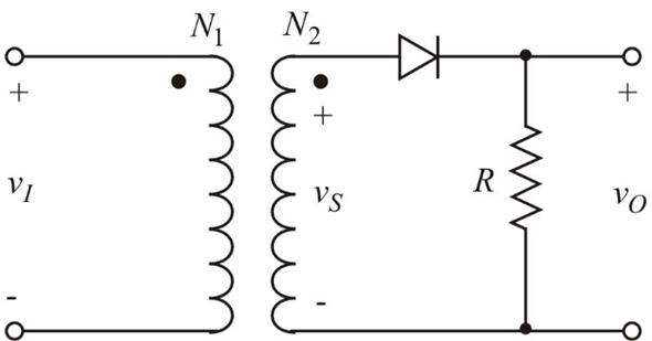 Solved: Describe a simple half-wave diode rectifier