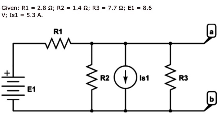What Is The Thevenin Voltage Of The Circuit Diagra