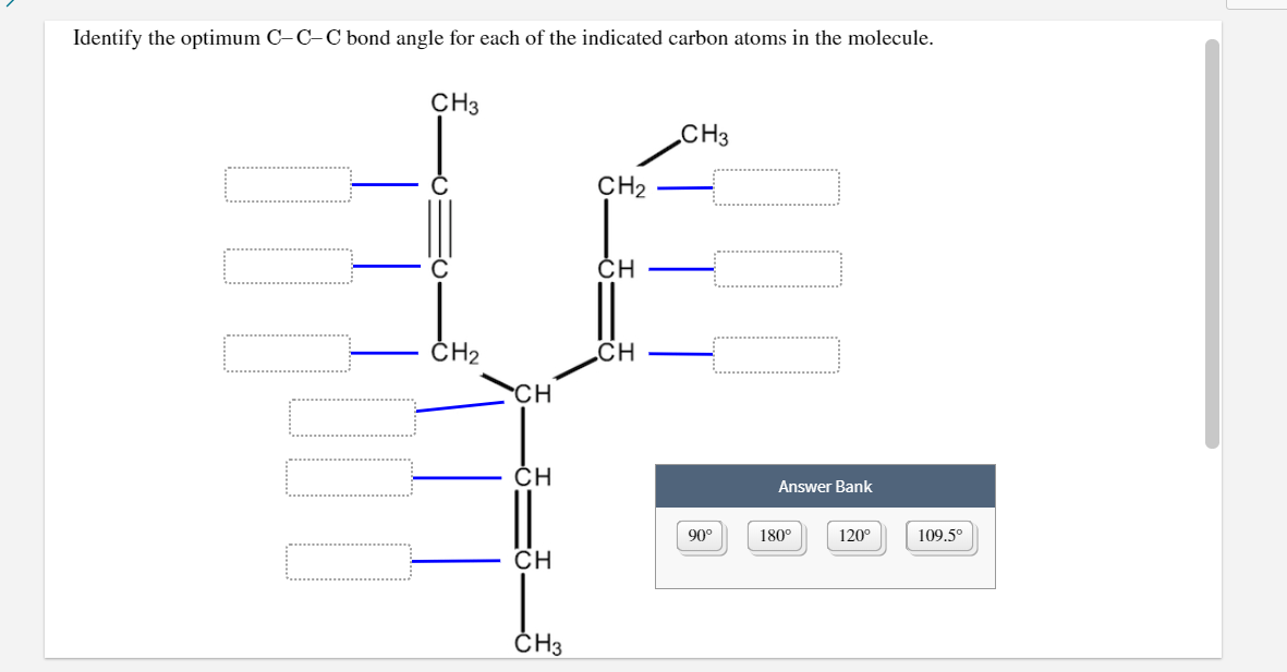 Solved: I Cannot Find The C-C-C Bonds. My Chem Class Hasn