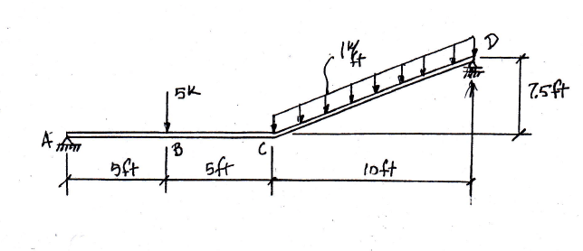 Showing All Necessary Calculations, Draw The Shear